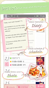 Coletto calendar~Cute diary Screenshot