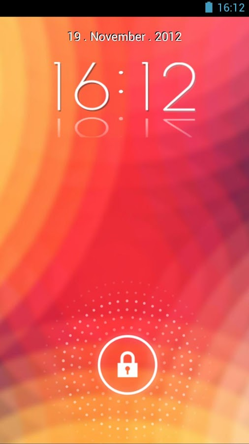 KitKat 4.4 Launcher Theme icon - screenshot