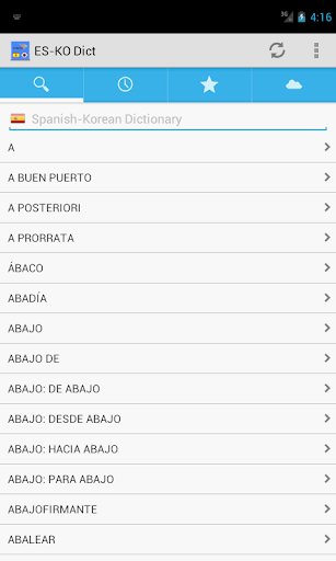 SpanishKorean Dictionary