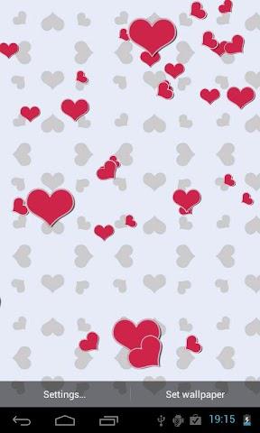 Screenshots for Falling Love 3D Live Wallpaper