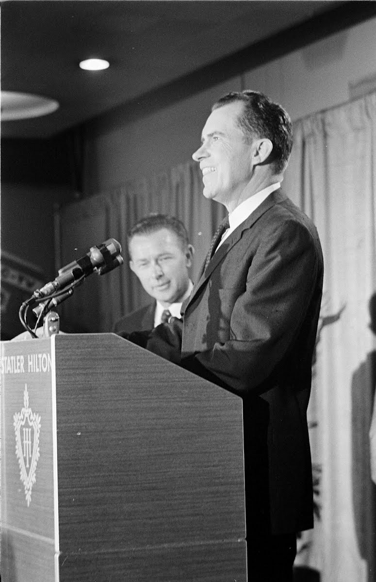 Nixon Press Conference And His Announcement To Run For Governor Of California