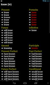 English Verbs Pro v14133 (Pro)