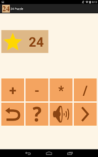 24 Number puzzle game- screenshot thumbnail