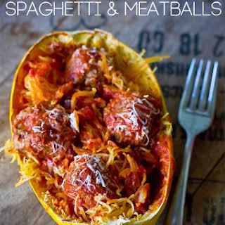 Paleo Spaghetti and Meatballs.