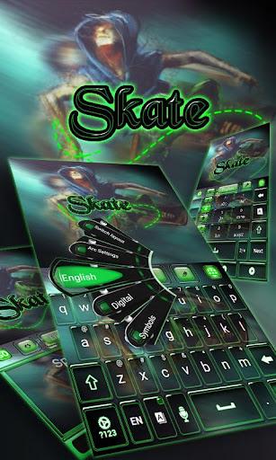 スケートキーボード