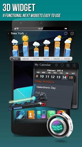 Next Launcher 3D Shell Lite  screenshots 5