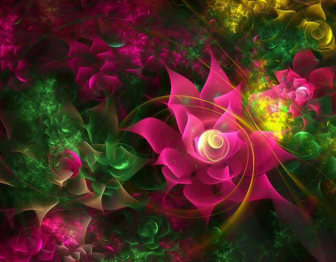 sparkling flower 3d android apps on google play