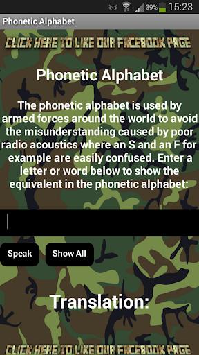 NATO Phonetic Alphabet
