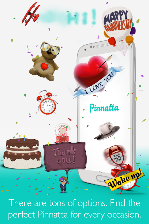 Pinnatta-Interactive Greetings - screenshot