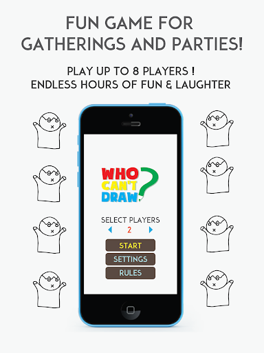 【免費家庭片App】Who Can't Draw - Party game!-APP點子