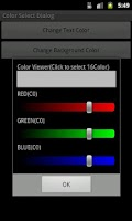 Screenshot of Color Picker Sample