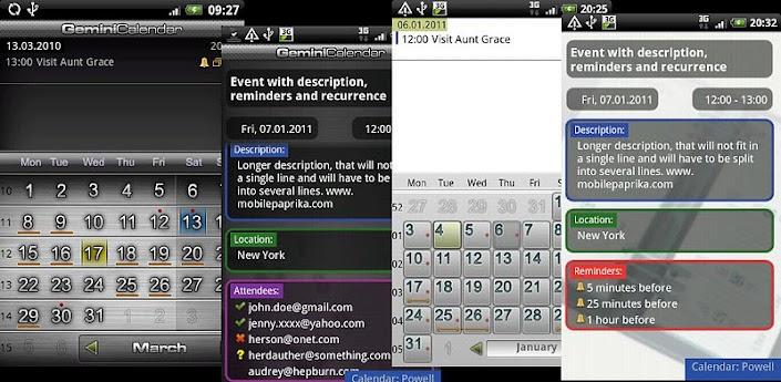 Скачать Gemini Calendar - Google календарь в новом обличии