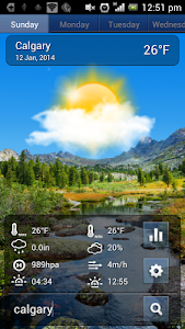 Swipe Weather screenshot 2