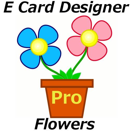 E Card Designer - Flowers Pro LOGO-APP點子