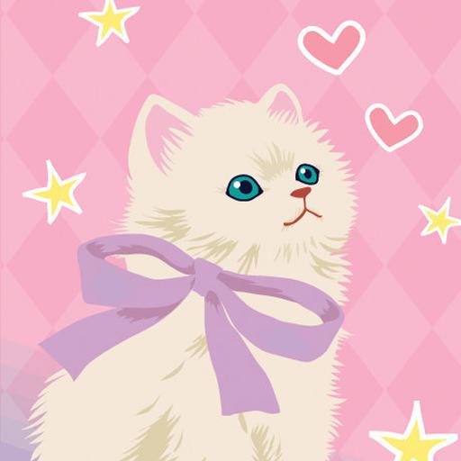 ガーリッシュ・キャット ライブ壁紙 個人化 App LOGO-APP試玩