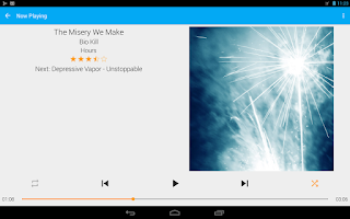 Screenshot of GoneMAD Music Player (Trial)