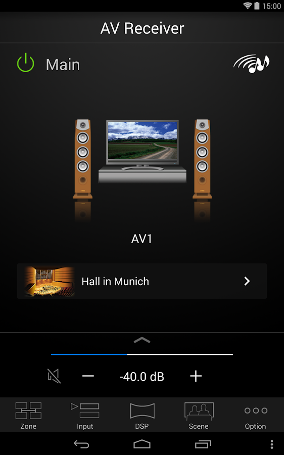AV CONTROLLER - screenshot