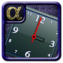 Alpha Analog Clock Widget icon