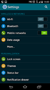CM11 GALAXY S5 TW theme- screenshot thumbnail