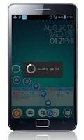 Screenshot of Glass Button (gLas) beta