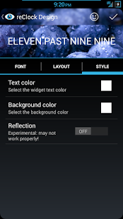 reClock: Text Clock Widget - screenshot thumbnail