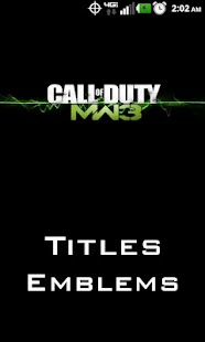 MW3 Titles and Emblems - screenshot thumbnail