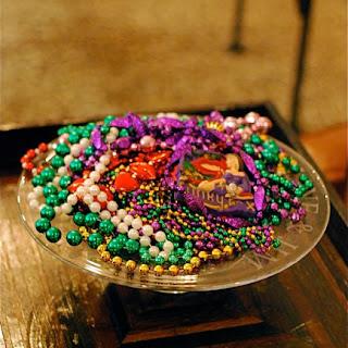 Caroline's Bourbon Slushies for Mardi Gras