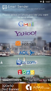 Email to Yahoo Gmail Hotmail