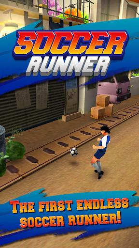Soccer Runner:带球前进!