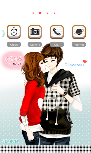 CUKI Themes I love you