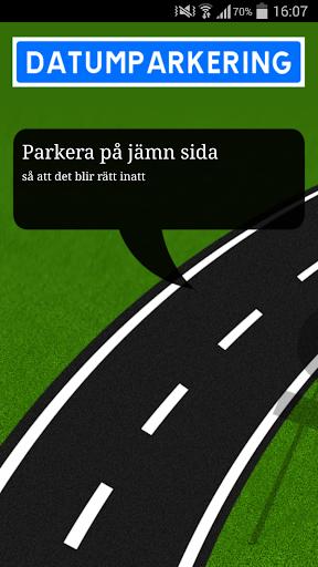 Datumparkering Gävle