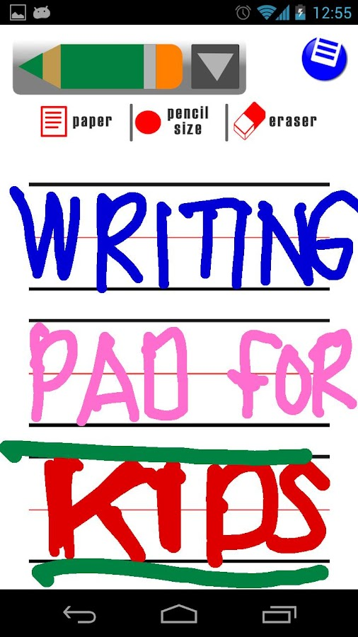 Kids Writing Pad FREE - screenshot