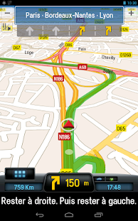 CoPilot Premium France GPS App - screenshot thumbnail