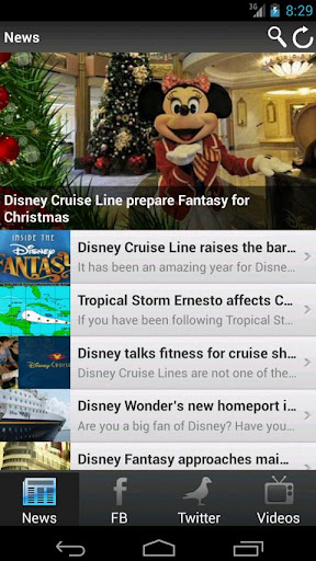 CSN: Disney Cruise Line