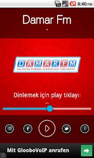 DamarFm Android Radyo - screenshot thumbnail