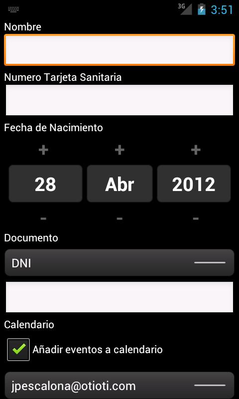 Cita Previa InterSAS - screenshot