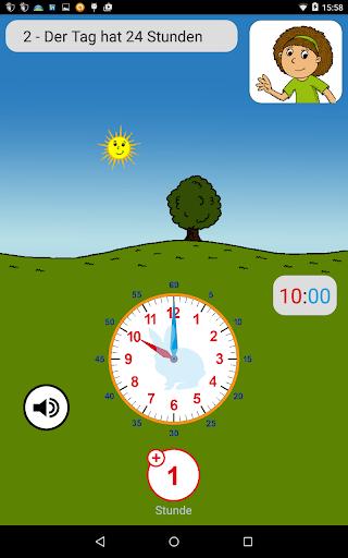 Die Uhr Uhrzeit lernen