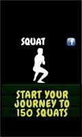 Screenshot of Squat - workout routine