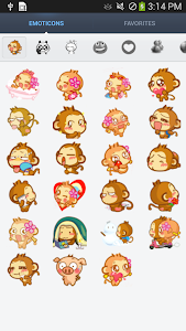 Cute Emoticons Sticker v1.2.6