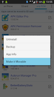 Screenshot of Apps Movable