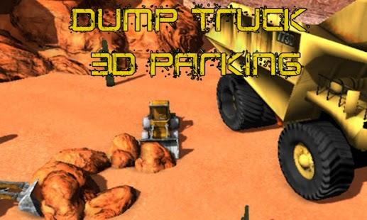 Dump Truck 3D Parking