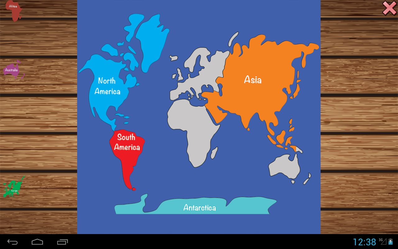 Learn geography puzzle Pro- screenshot