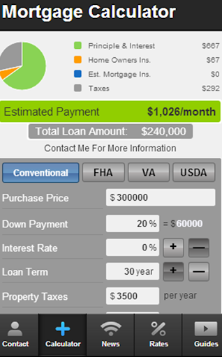 Andy Williams' Mortgage Mapp