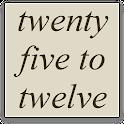 FiveTime Word Clock Widget icon