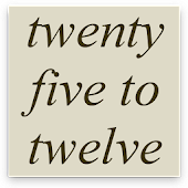 FiveTime Word Clock Widget Android APK Download Free By Kodintent