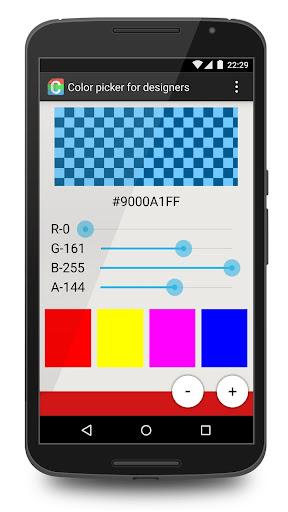 Color picker for designers