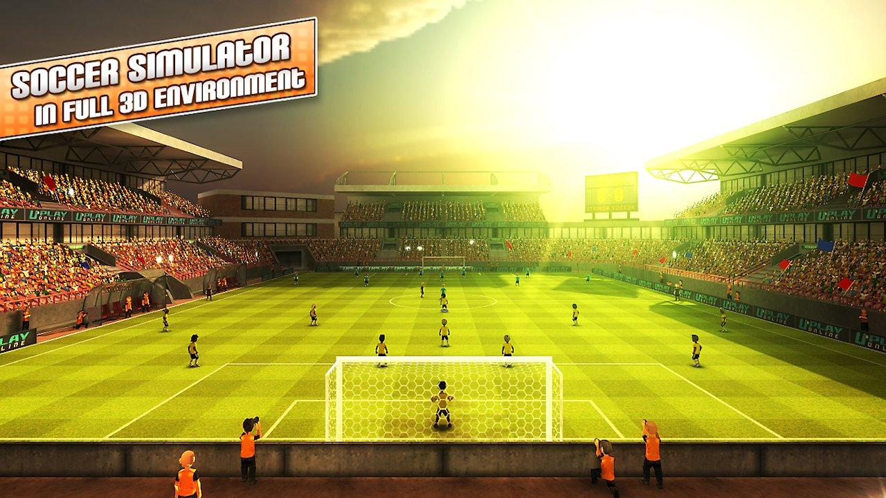 Striker Soccer London - screenshot