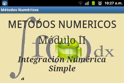 Métodos Numéricos Módulo II