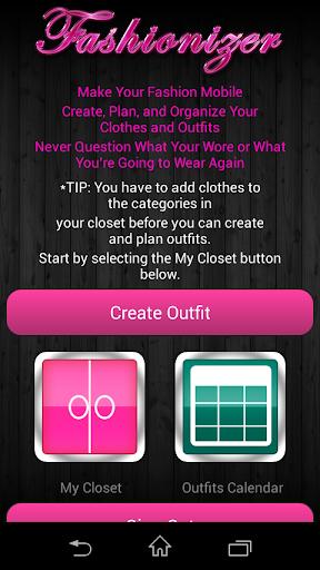 Fashionizer – Free App