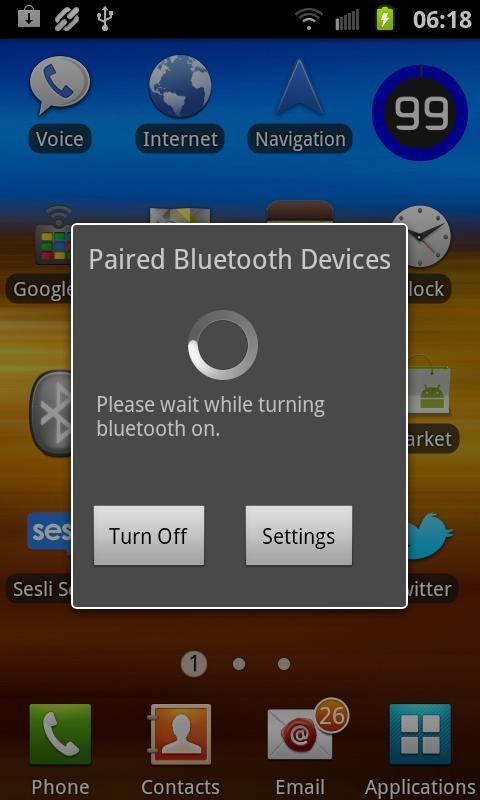 Smart Bluetooth Widget Free - screenshot